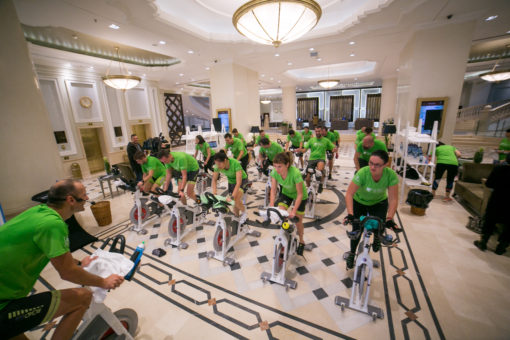 cycling challenge marriot