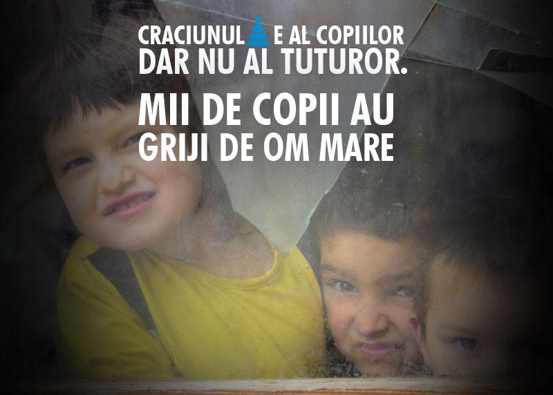 Craciun SOS Satele copiilor